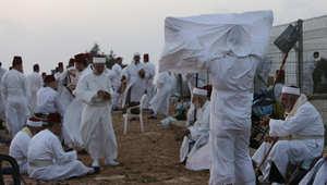 السامريون موزعون بين مدينة نابلس ومنطقة حولون بالقرب من تل ابيب