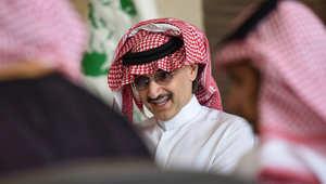 مؤتمر صحفي للوليد بن طلال يتعهد فيه بالتبرع بكامل ثروته لمشاريع خيرية خلال السنوات القادمة