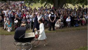 تعميد الأميرة تشارلوت