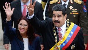 اعتقال اثنين من عائلة الرئيس الفنزويلي