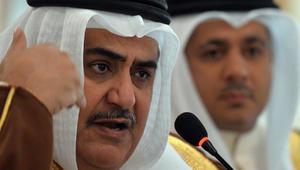 وزير خارجية البحرين يرد على مهاجمة روحاني للجامعة العربية