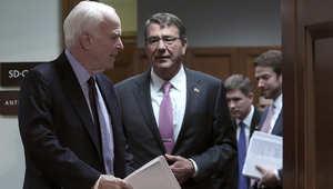 """إدارة أوباما تقر بتدريب 1% فقط من العدد المستهدف في المعارضة السورية..و""""ماكين"""": لن يحقق هدف إضعاف أو تدمير """"داعش"""""""