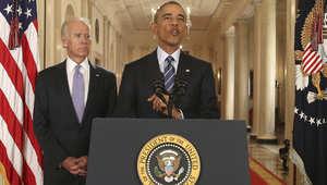 """""""أوباما"""" يتصل بالعاهل السعودي وولي عهد أبوظبي.. ويؤكد الالتزام بدعم """"الشركاء"""" الخليجيين ضد أنشطة إيران"""