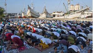 صلاة العيد - جاكرتا، إندونيسيا
