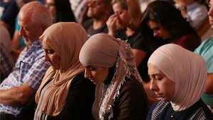 الصلاة على أرواح الضحايا