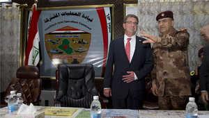 أشتون كارتر في العراق