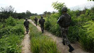 كوريا الجنوبية تتوعد الشمال بدفع الثمن غالياً بعد انفجار ألغام بدورية عسكرية