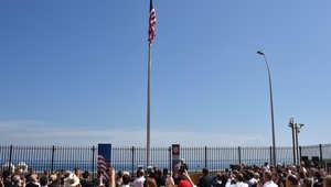 كيري يرفع العلم فوق السفارة الأمريكية في كوبا للمرة الأولى منذ أكثر من نصف قرن