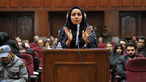 بعد إطلاق اسم نمر النمر على شارع بإيران.. حملة لاطلاق إسم ريحانه جباري على شارع السفارة الإيرانية بالرياض