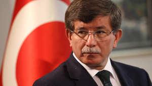 قال أحمد داوود أوغلو، إن العملية العسكرية الجوية التي تشنها روسيا تستهدف المعارضة السورية.