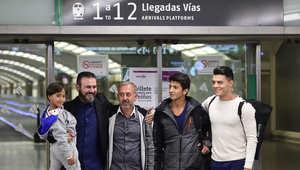 عرقلة لاجئ سوري من مصورة مجرية تنقله إلى تدريب كرة القدم في إسبانيا