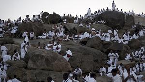 حجيج على جبل عرفات