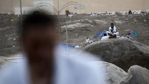 حاج على جبل عرفات