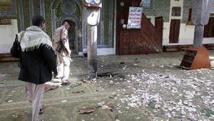 """داعش يتبنى تفجير مسجد """"البليلي"""" في صنعاء.. ويعتبره """"انتقاماً للمسلمين من الحوثيين"""""""
