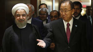 """الرئيس الإيراني يقطع زيارته إلى الأمم المتحدة.. ويحمل السعودية المسؤولية """"القانونية والسياسية"""" لمقتل الحجاج"""