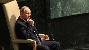بوتين: أنباء سقوط ضحايا من المدنيين في سوريا ظهرت قبل إقلاع طائراتنا