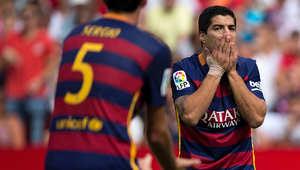 خسارة برشلونة أمام اشبيلية للمرة الثانية