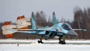 روسيا تعلن دخول مقاتلات SU-34 المزودة بصواريخ جو-جو للعمليات في سوريا