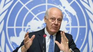 مبعوث الأمم المتحدة: مستقبل سوريا لا يتقرر بالطرق العسكرية.. والتدخل الروسي يزيد أهمية الحل الدبلوماسي
