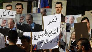 سقوط قذيفتين على مقر السفارة الروسية في دمشق.. وإسرائيل تقصف موقعين للجيش السوري في الجولان