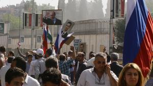 السفارة الروسية في دمشق تتعرض للقصف مرتين بيوم واحد
