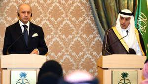 الجبير بمؤتمر مع نظيره الفرنسي: نحاول اقناع موسكو بأهمية استثناء بشار الأسد من أي مخرج سياسي