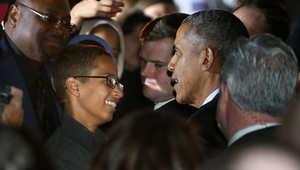 """أوباما يستضيف المخترع المسلم الصغير في """"ليلة الفضاء"""" بالبيت الأبيض"""