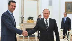 """بوتين: الأسد منفتح على دعم المعارضة لمواجهة """"داعش"""""""