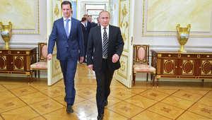 """بوتين: لا نملك الحق في مطالبة الأسد بالرحيل.. ومستعدون للتعاون مع أمريكا ضد """"داعش"""""""