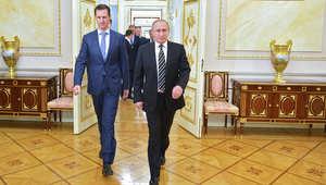 الأسد: أردوغان فقد أعصابه لأن التدخل الروسي غير توازن القوى.. وفشل مجموعاته الإرهابية يعني نهاية حياته السياسية