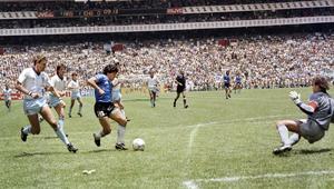 """حكاية مونديال 86: مارادونا يسجل """"هدف القرن"""" والعراق يشارك رغم الحرب مع إيران"""