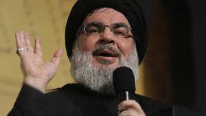 """نصرالله: أمريكا تسعى لحرب طائفية حتى يجد """"التنابل"""" مرتزقة يحاربون عنهم في سوريا واليمن"""