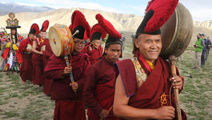 """في وادي """"موستنغ"""" النيبالي.. لم يتغيّر شكل الحياة منذ أكثر من 1000 عام"""