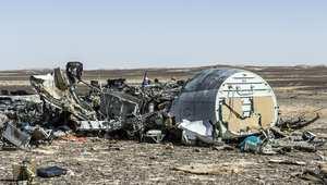 محققون أوروبيون: تحطم الطائرة الروسية لم يكن حادثاً