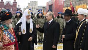 """""""داعش"""" يهدد روسيا بـ""""إسالة الدماء قريبا جدا"""".. والكرملين: الأجهزة الأمنية تحقق في مصداقية الفيديو"""