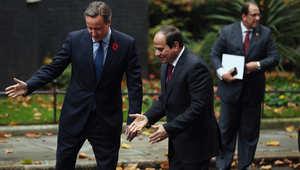 السيسي: نتفهم مخاوف بريطانيا بشأن سلامة رعاياها.. وكاميرون: لدينا معلومات استخباراتية ترجح سقوط الطائرة الروسية بقنبلة