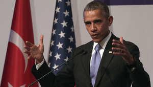 """أوباما: """"داعش"""" هم بضع قتلة لديهم وجود جيد على وسائل التواصل الاجتماعي"""