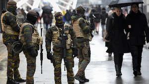 بلجيكا: انتهاء حملة مداهمات أمنية باعتقال 16 شخصا ليس من بينهم صلاح عبدالسلام المشتبه بتورطه في هجمات باريس