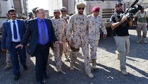 """الرئيس اليمني يتعهد بإنهاء """"الانقلاب"""" في ذكرى الاستقلال.. ويشكر السعودية والإمارات والبحرين وقطر والسودان"""