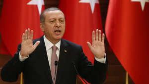 أردوغان: المقاتلات الروسية تسرح وتمرح فوق سوريا.. وأمريكا ترفض إقامة منطقة حظر طيران