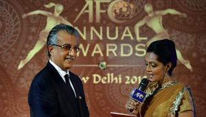 من حفل الجوائز الأخير الذي أقيم في نيودلهي الهندية
