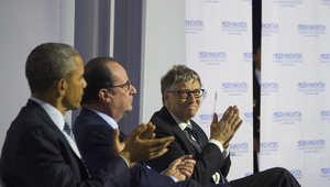 """تزامنا مع قمة المناخ"""".. بيل غيتس يرأس مبادرة """"تحالف القفزة النوعية للطاقة"""" مع زوكربيرغ والأمير الوليد بن طلال"""