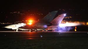 """وزارة الدفاع البريطانية لـCNN: أربع مقاتلات """"تورنادو"""" تنفذ أول ضرباتها ضد """"داعش"""" بسوريا"""