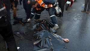 """مقتل فلسطيني وإصابة 9 أشخاص في """"هجوم دهس"""" بمدخل القدس"""
