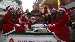 رغم كل المصاعب.. المدن العربية تتزين احتفالاً بعيد الميلاد