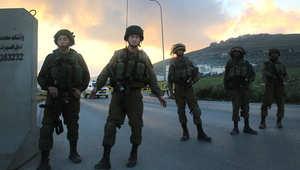 الجيش الإسرائيلي: مقتل فلسطينيين بعد طعنهما جنديا في الضفة الغربية