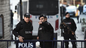 تقرير: مقتل 5 عناصر بالشرطة التركية بتفجير شرق البلاد