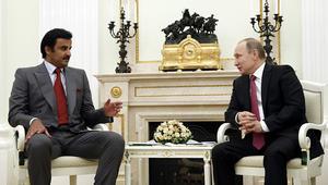 بوتين لأمير قطر: يجب حل الأزمة عبر الجهود السياسية والدبلوماسية