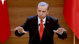 """أردوغان: لا يمكن مشاركة المعارضة السورية في محادثات جنيف دون وقف إطلاق النار.. وحضورها سيكون """"خيانة"""""""