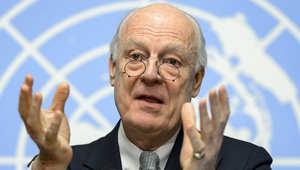 دي مستورا يرسل الدعوات للمشاركين بالمحادثات حول سوريا وفقا لمعايير مجلس الأمن